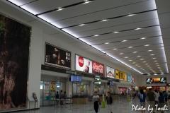 2014年の鹿児島空港にて