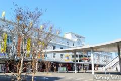 熊本駅にて