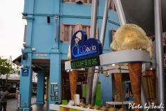 シンガポールのアイスクリーム屋さん