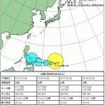 1月15日_台風1号発生+ノルディックウォーキング