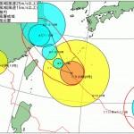 7月9日 「台風9号」の強風圏内であります。