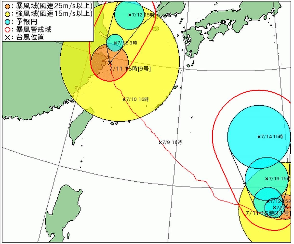 2015年_台風11号