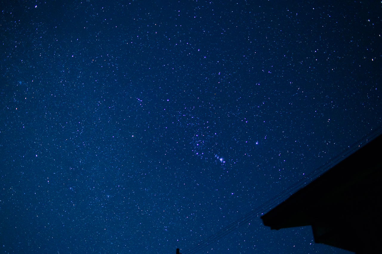 35mm単焦点レンズで撮影した星空写真-2