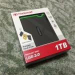 USB3.0のポータブルハードディスクが快適です!