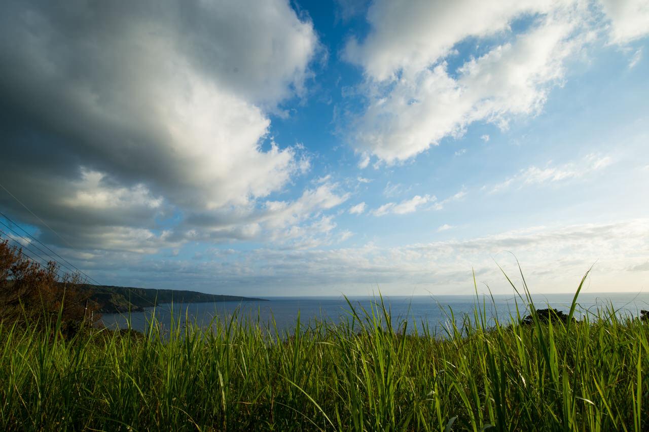 瀬滝から見た犬田布岬方面