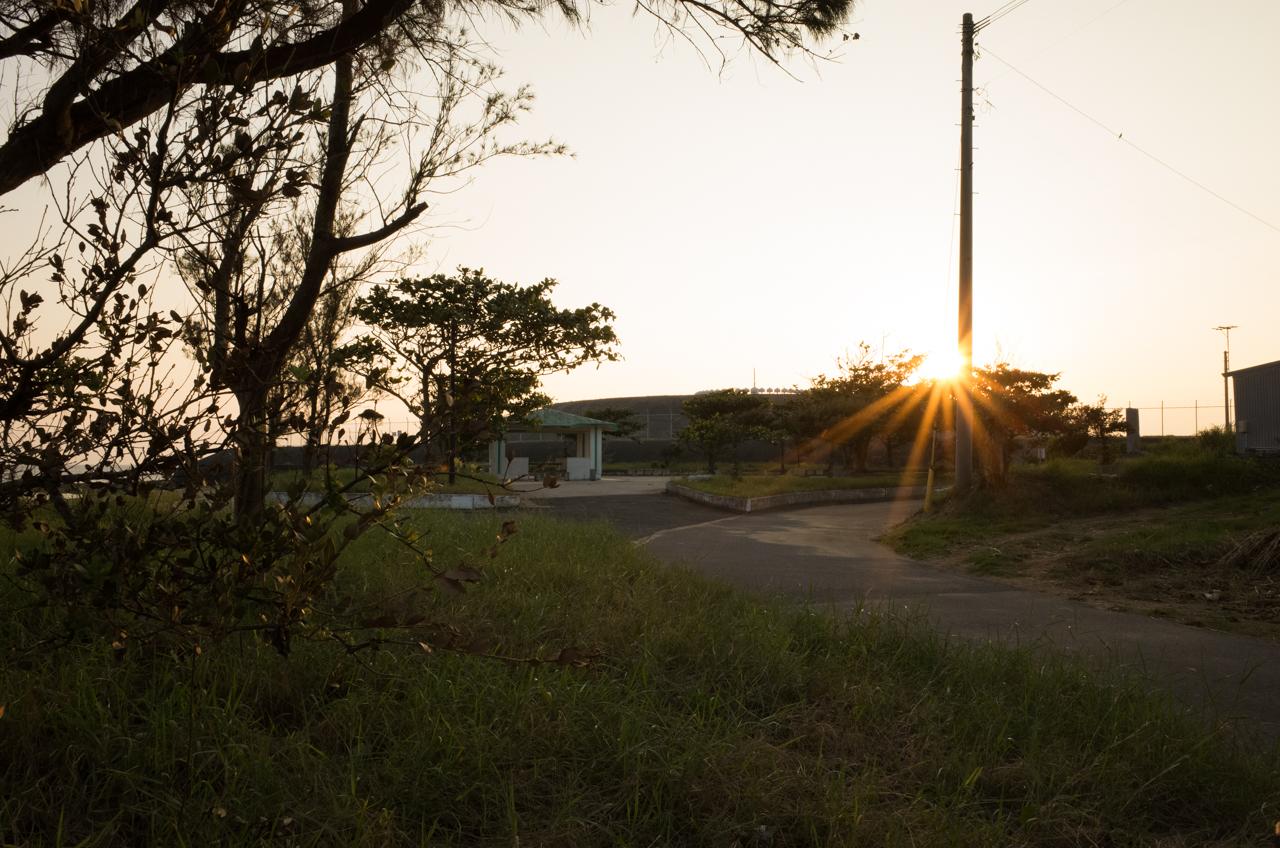 GRⅡでの夕陽の工業-4