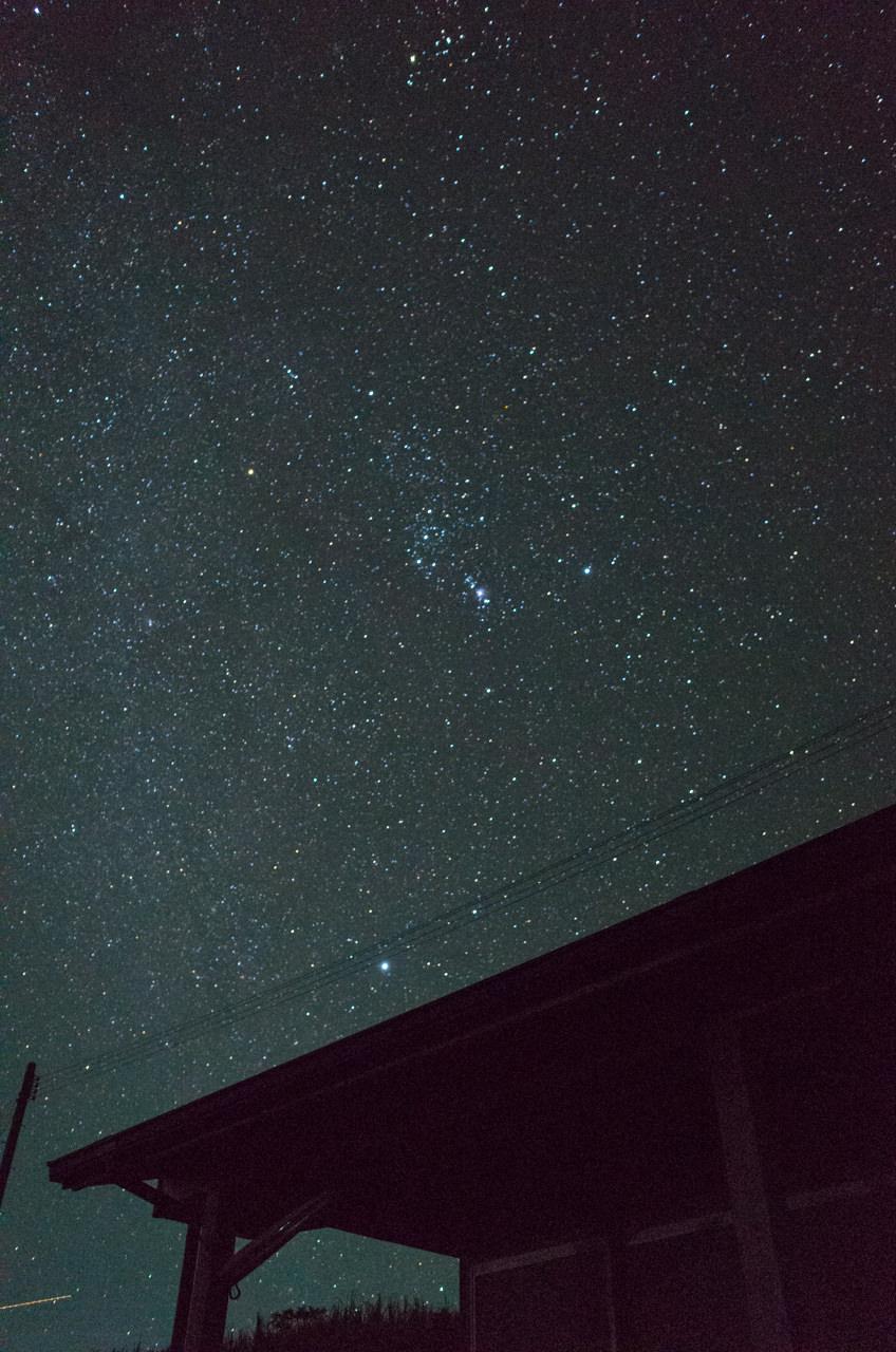コンデジで撮る星景写真-1