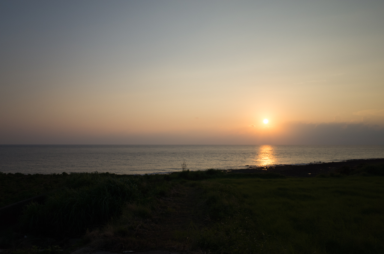 GRⅡで撮影した徳之島の西海岸