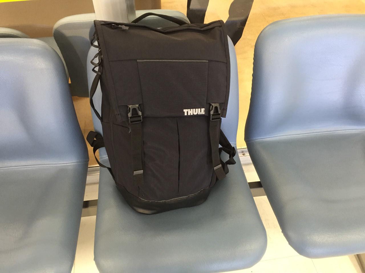 Thule(スーリー)のバックパックを旅に使ってみて! | 花徳マンゴー