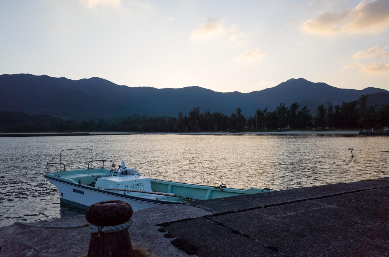 山漁港での遊漁船-1