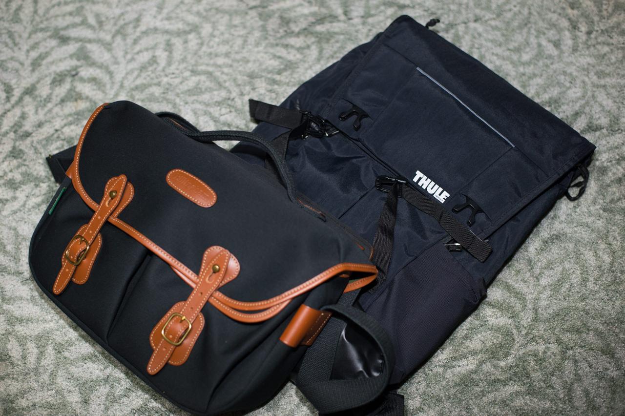 ビリンガムハドレープロとThule Paromount Backpack