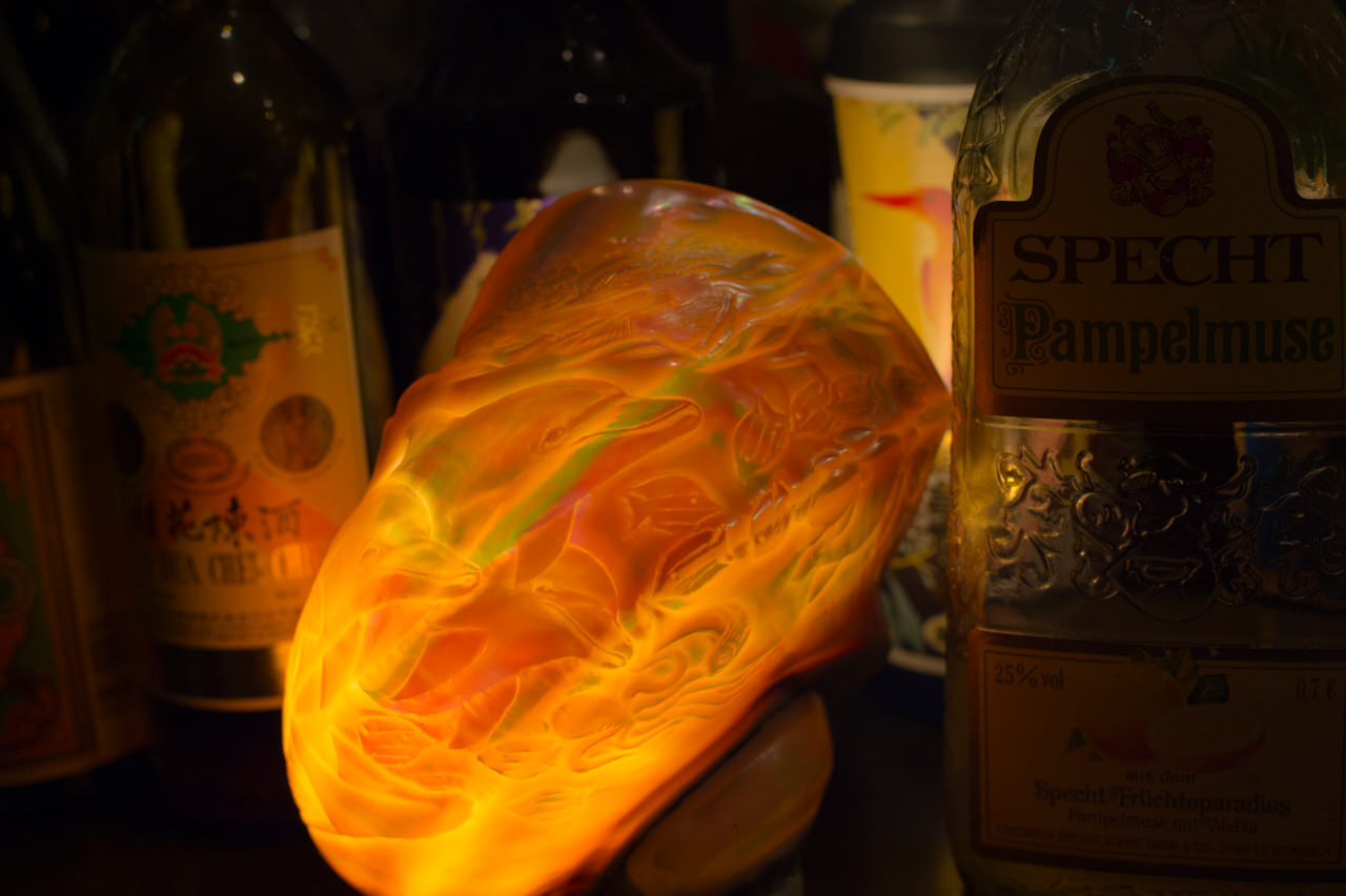 bajeenaの夜光貝ランプ