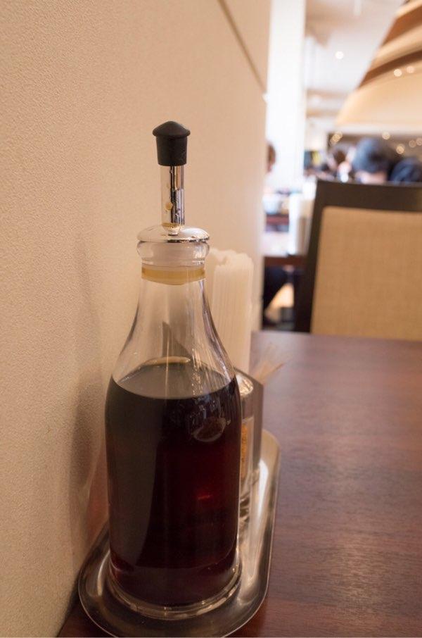 山形屋食堂へ備え付けの三杯酢