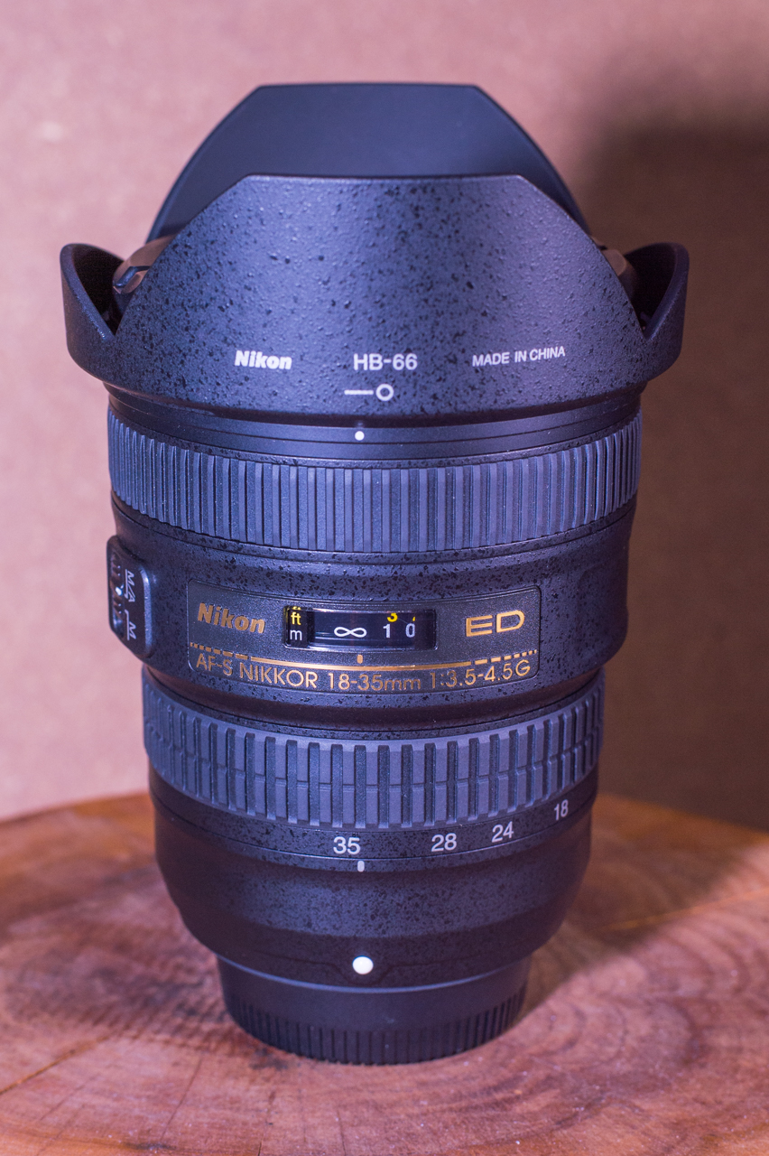 Nikon AF-S 18-35mm f/3.5-4.5G ED-写真