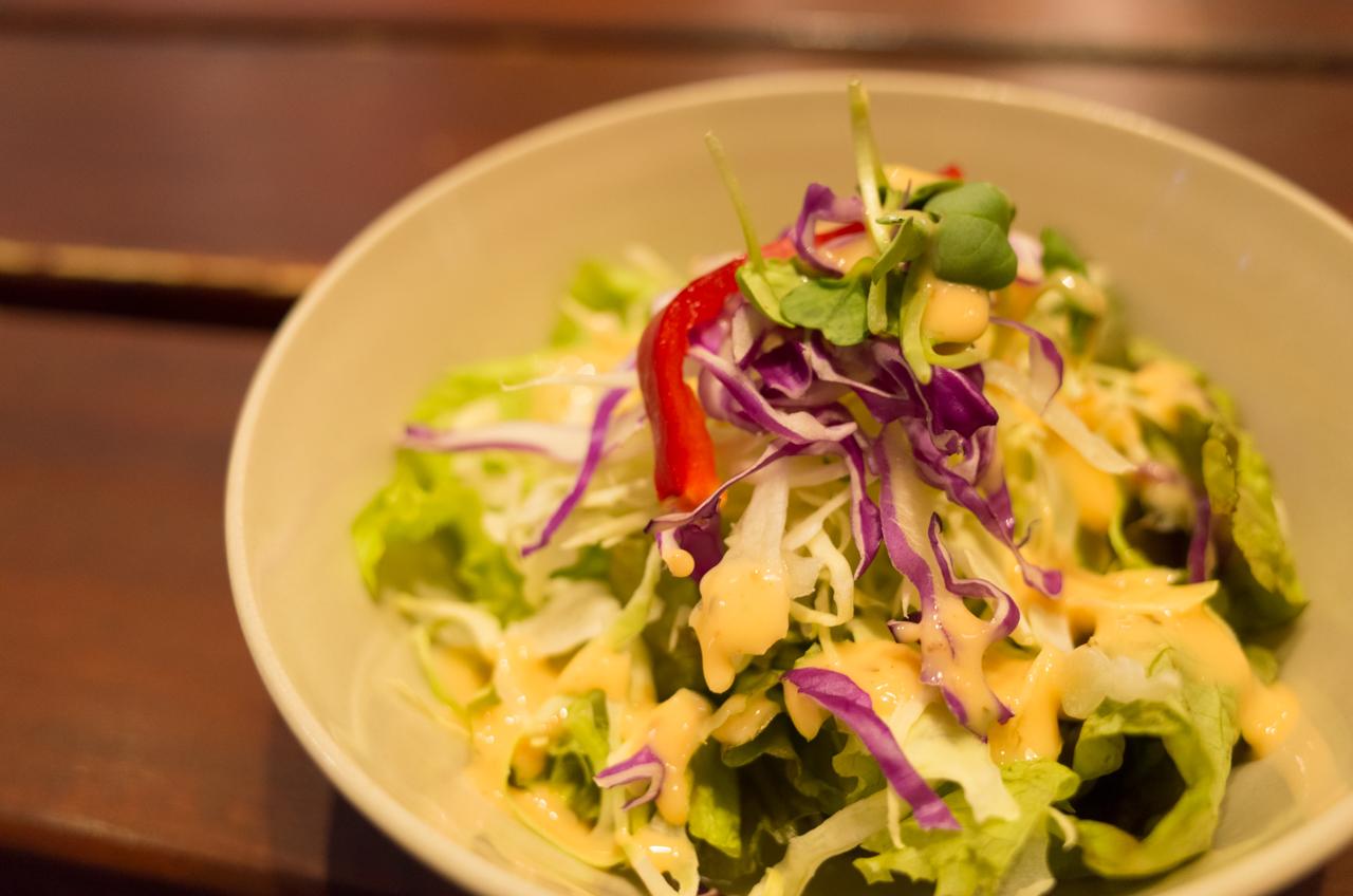 ロコキャンティーンのサラダ