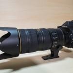 【望遠レンズ】「AF-S NIKKOR 70-200mm f/2.8G ED VR2」がやってきた!