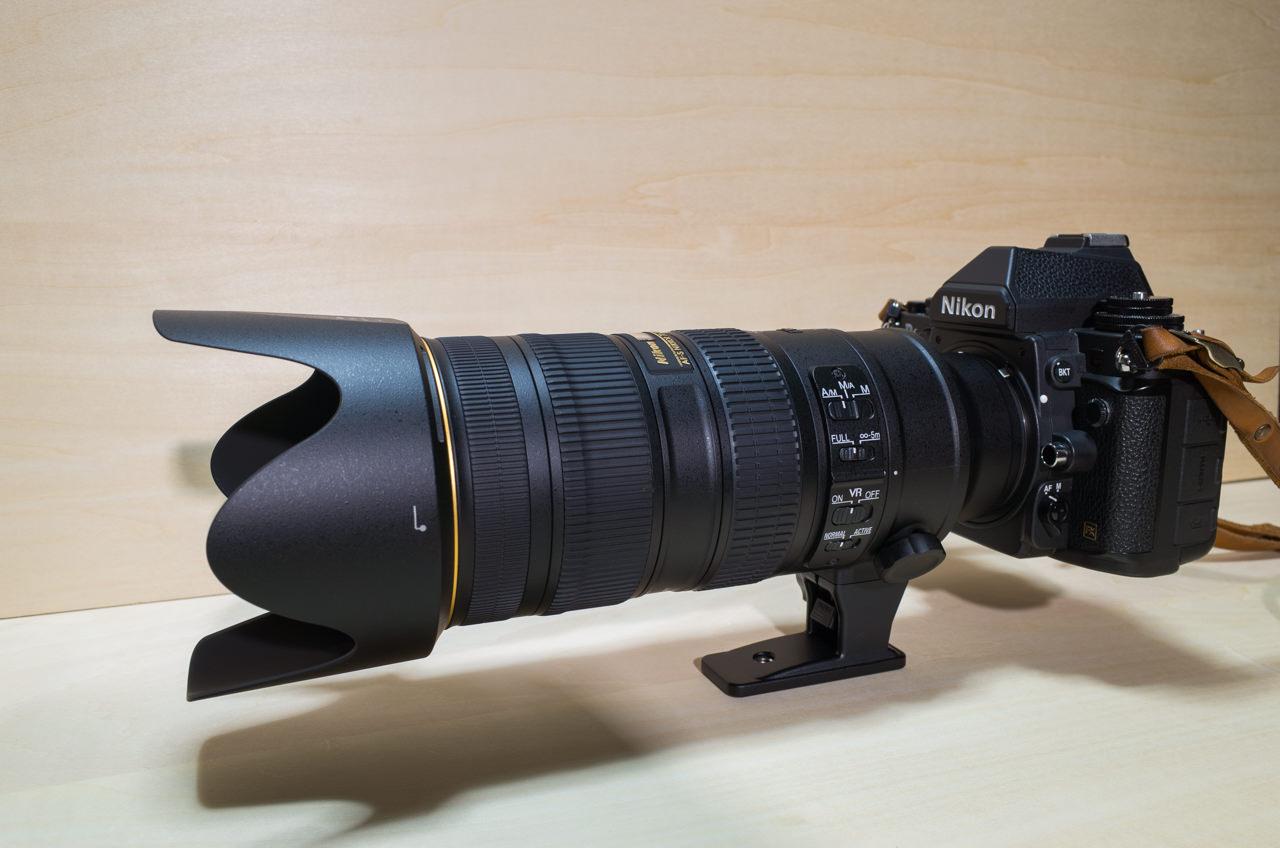 Nikon DfとAF-S NIKKOR 70-200mm f/2.8G ED VR2