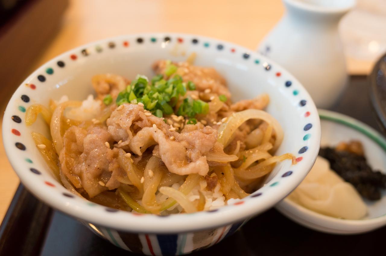 ふく福の鹿児島黒豚丼