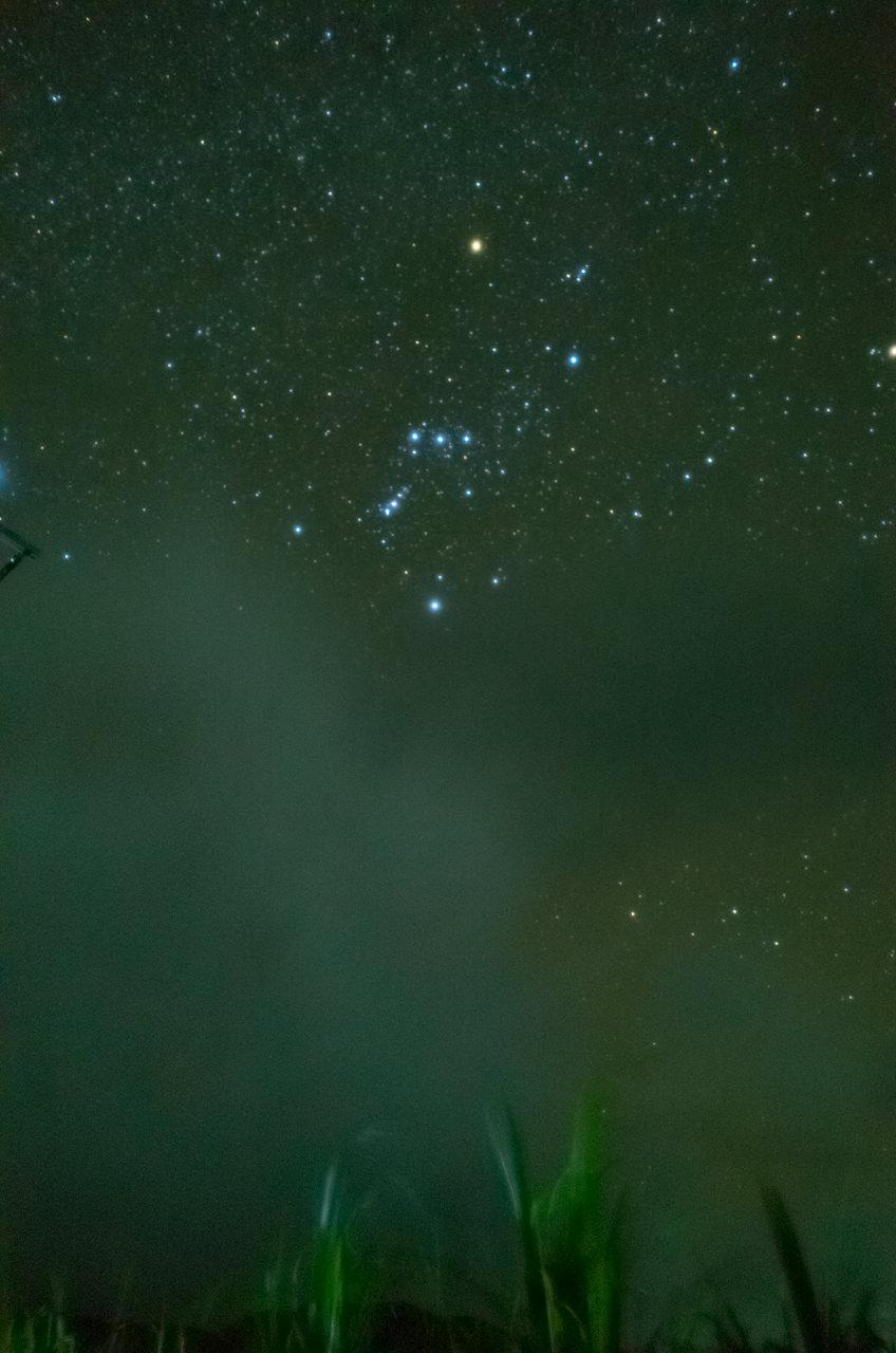 焦りながら撮影した星空-2