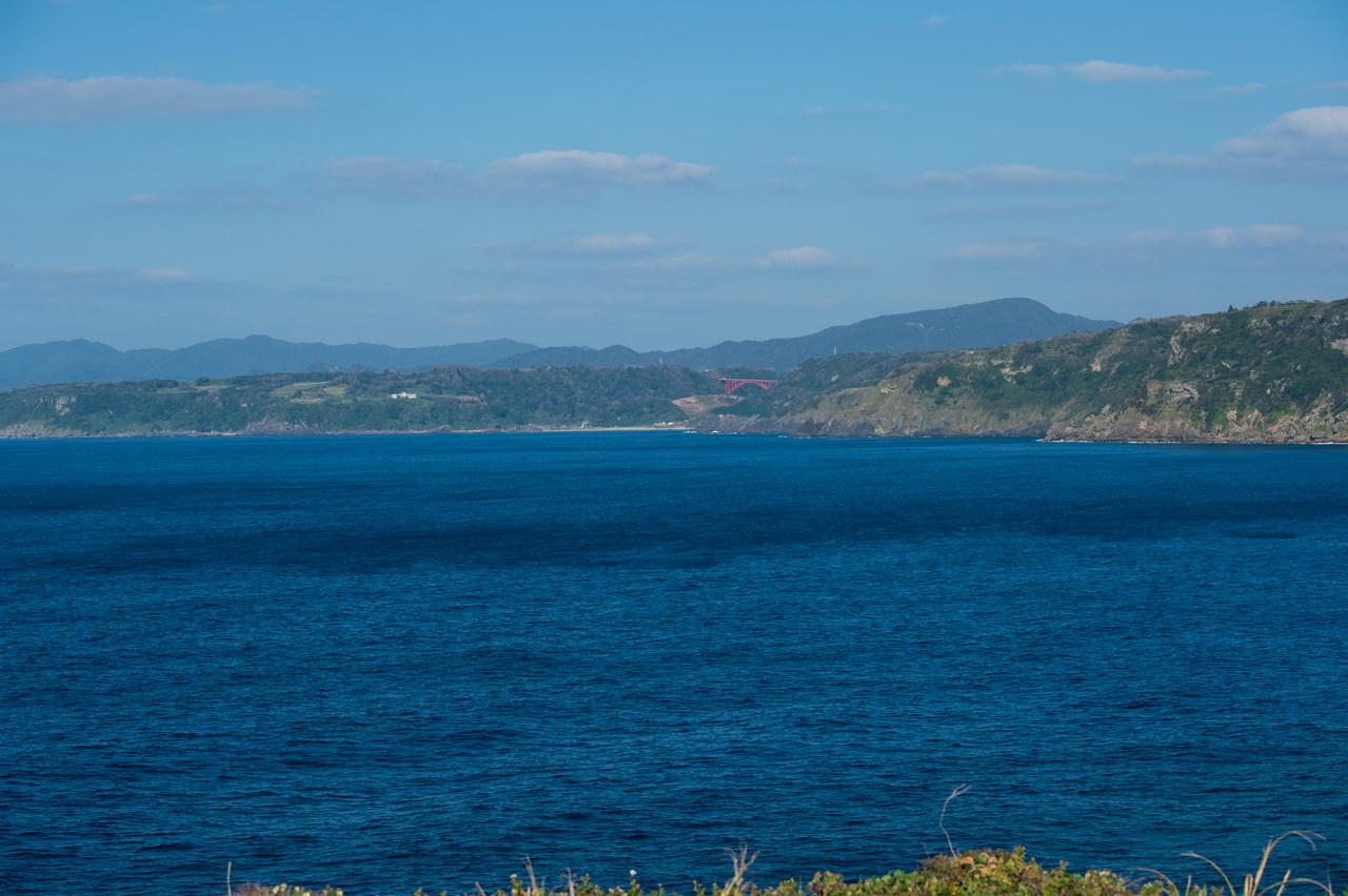 犬田布岬から眺める海の景色