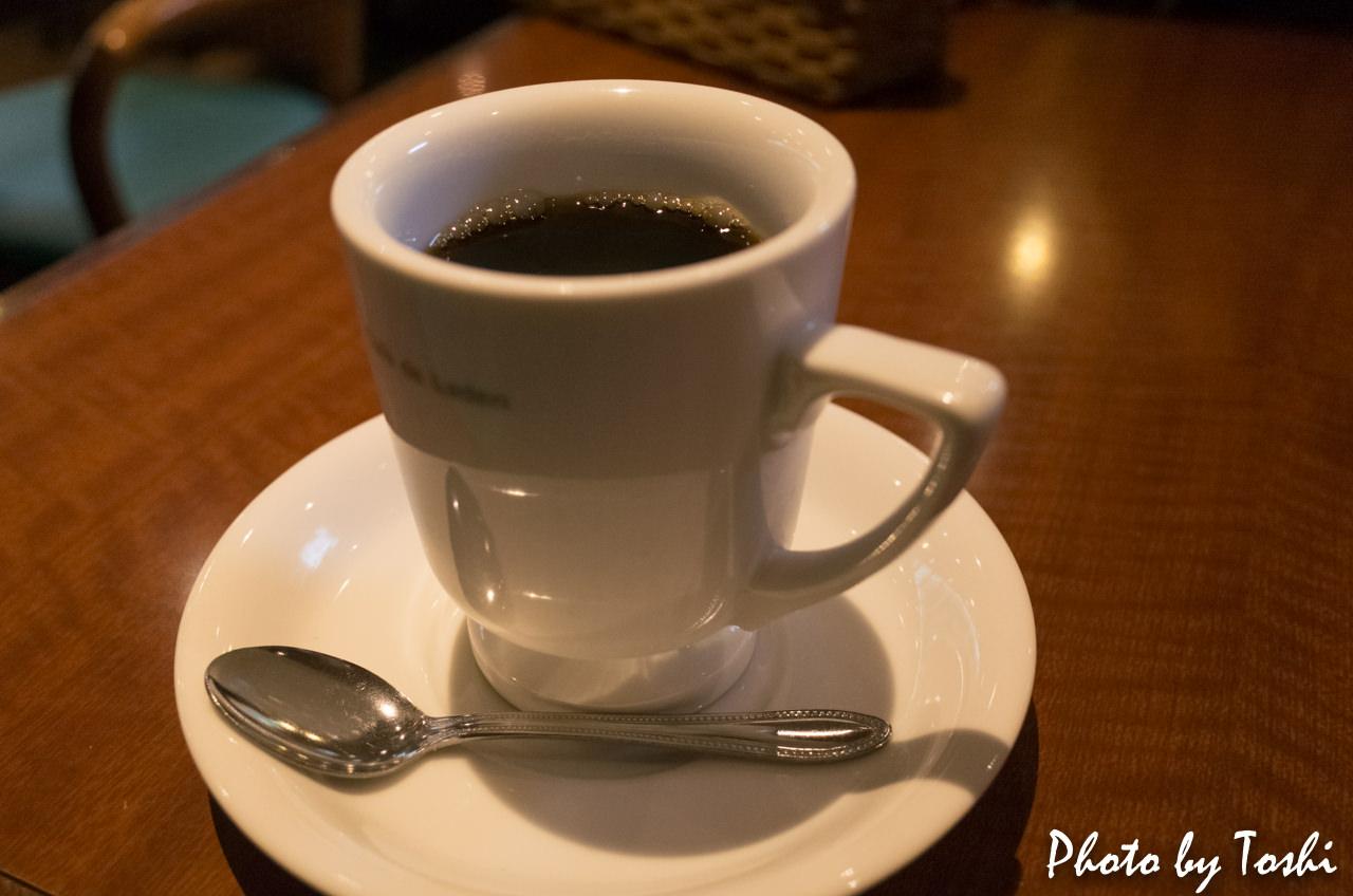 彼女の家のコーヒー