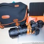 ビリンガム「ハドレープロ」に「Nikon 70-200 f2.8」を装着したまま入るか?