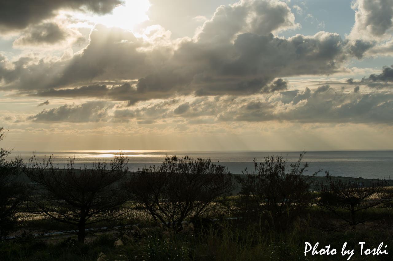 Ricoh GR2で撮影した夕日