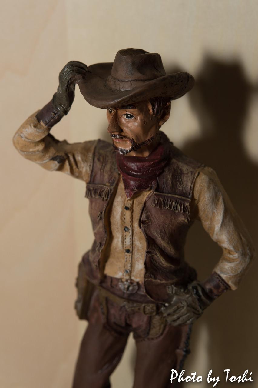 マクロレンズで撮影した人形