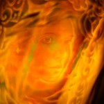 【夜光貝アート】の世界「徳之島に天使が舞い降りた」