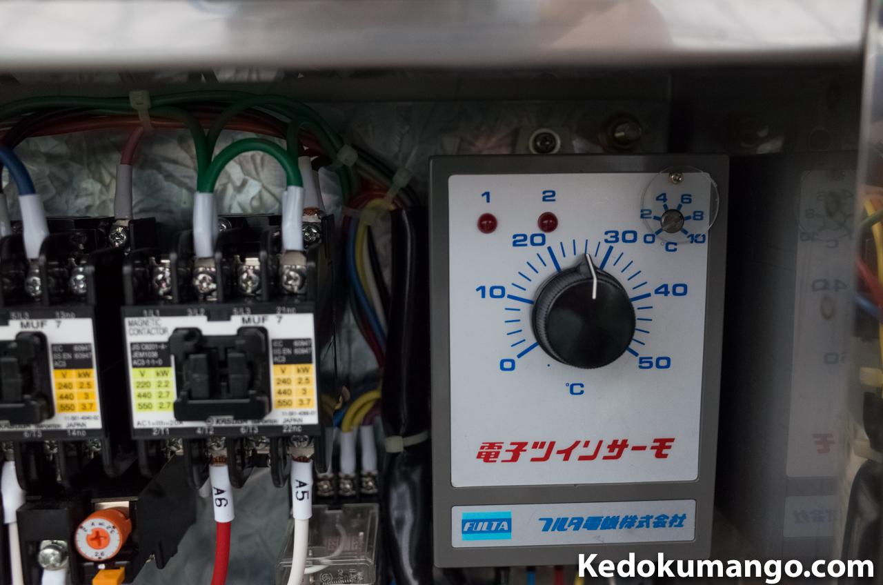 換気扇の設定温度
