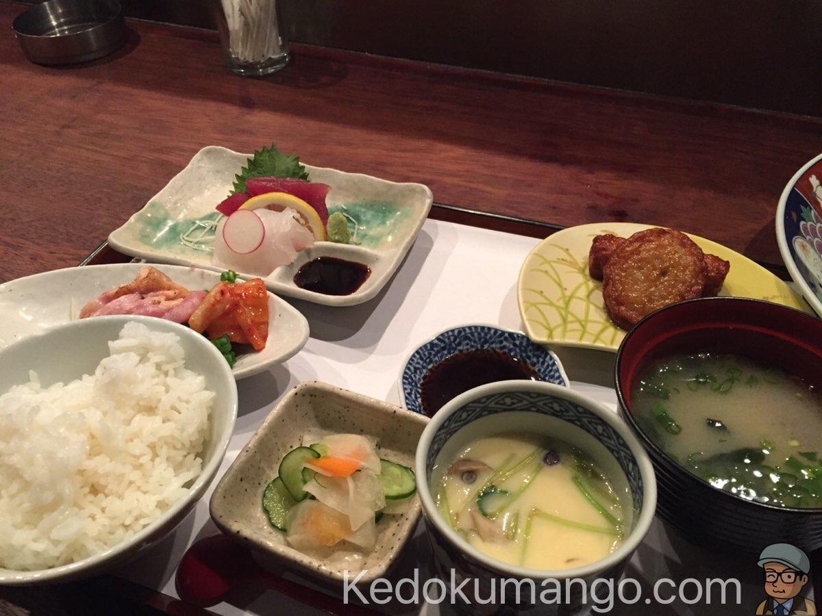 櫻壽のトンテキ膳