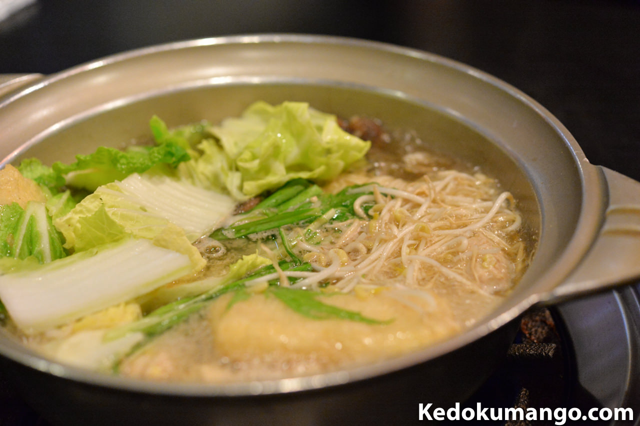 ちゃんこ料理「霧島」の鍋