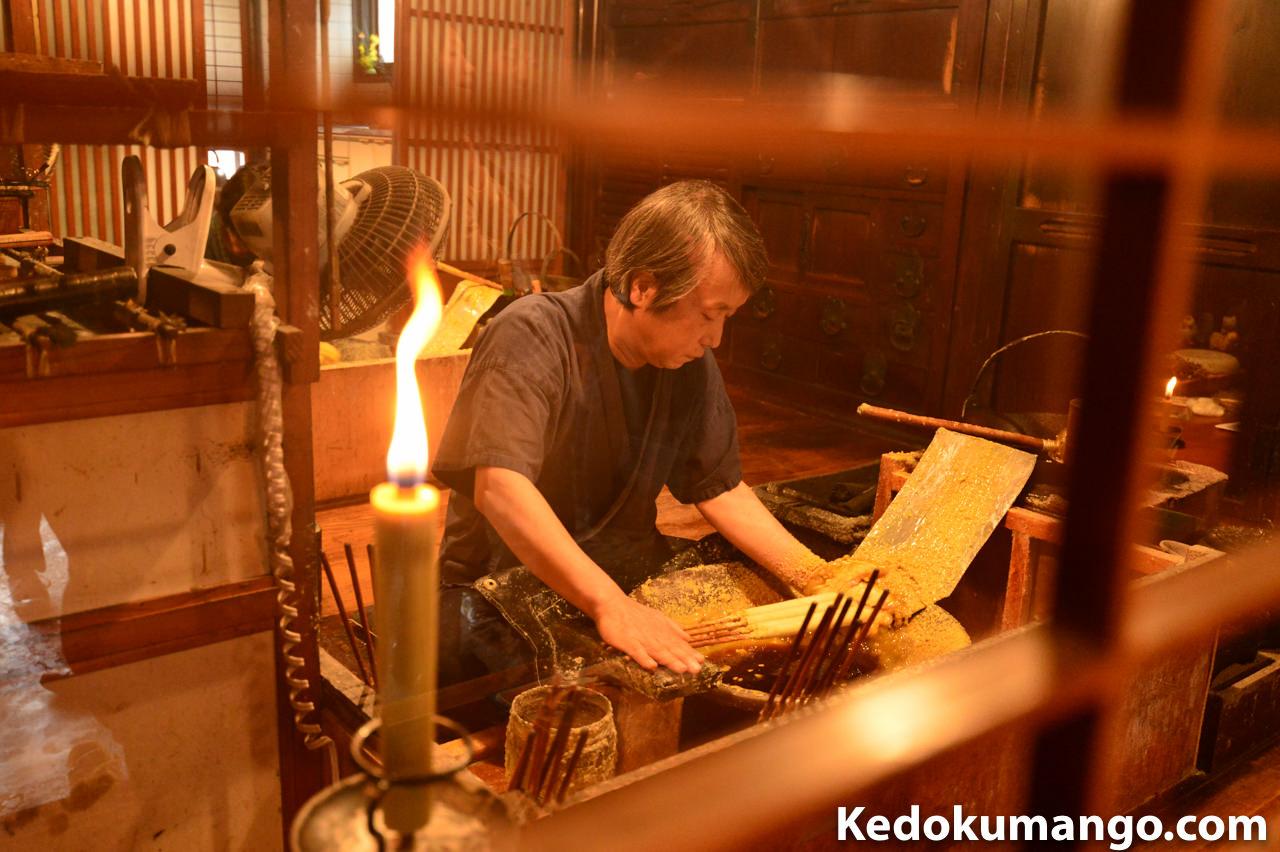 ニッコールレンズフォトツアーに参加して_伝統職人芸撮影「大森和蝋燭」編 | 花徳マンゴー