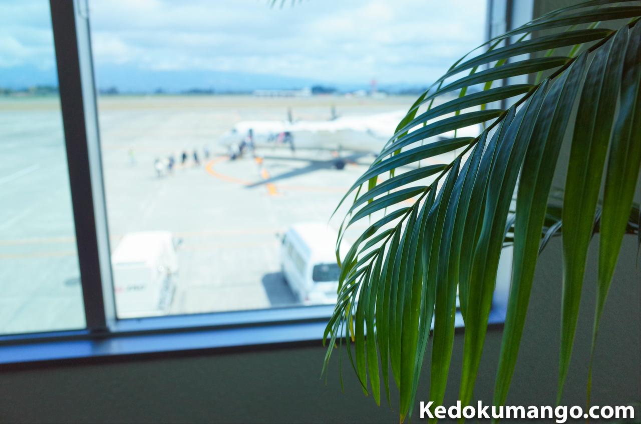 鹿児島空港でのカメラ遊び