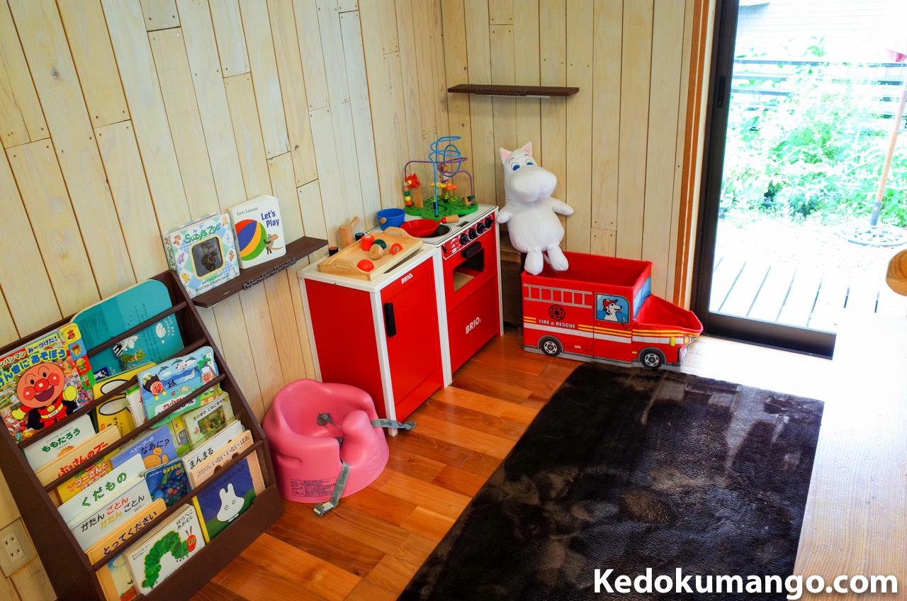 「Rojiura Cafe(路地裏カフェ)」のキッズスペース