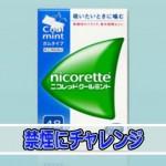 禁煙補助ガム「ニコレット」を使って【禁煙】に挑戦です!!