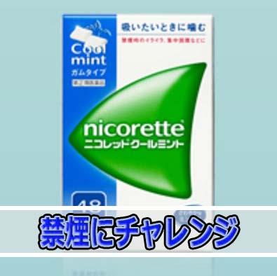 禁煙補助ガム「ニコレット」を使って「禁煙」に挑戦です!! | 花徳マンゴー