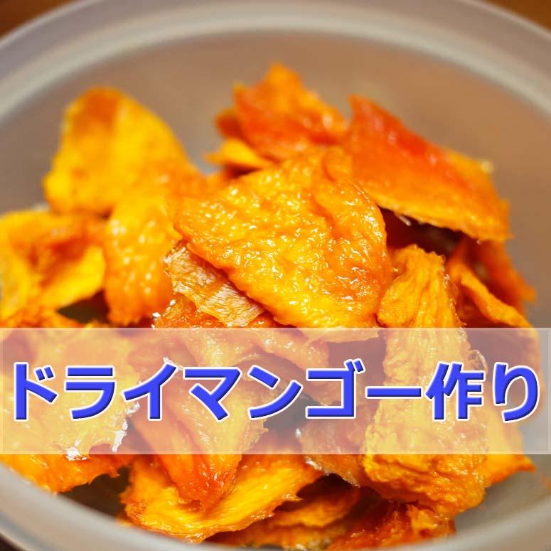 「マンゴー」「メロン」「りんご」でドライフルーツ作りがおもしろい! | 花徳マンゴー