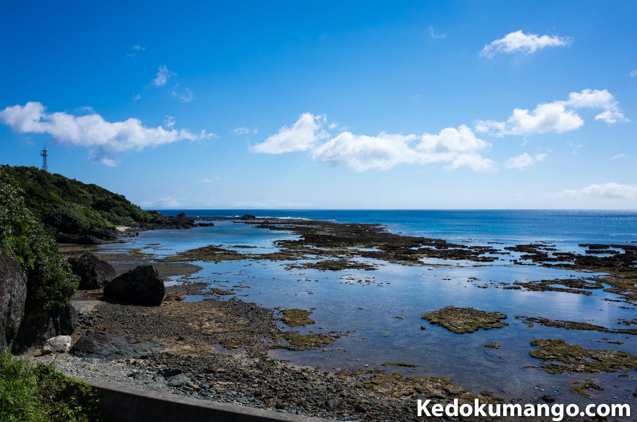 徳之島の井之川地区からみる「海」