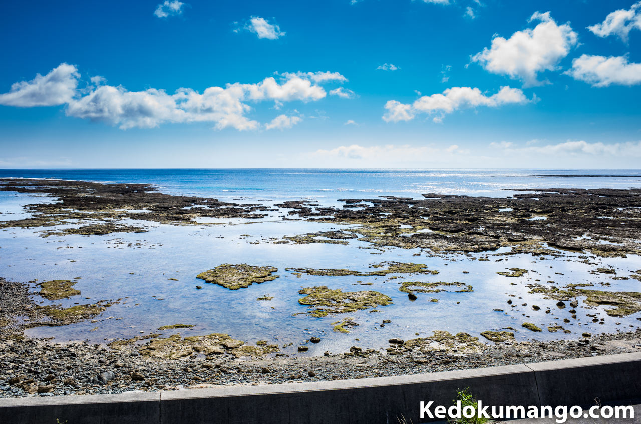 徳之島の「井之川地区」から見る「海」