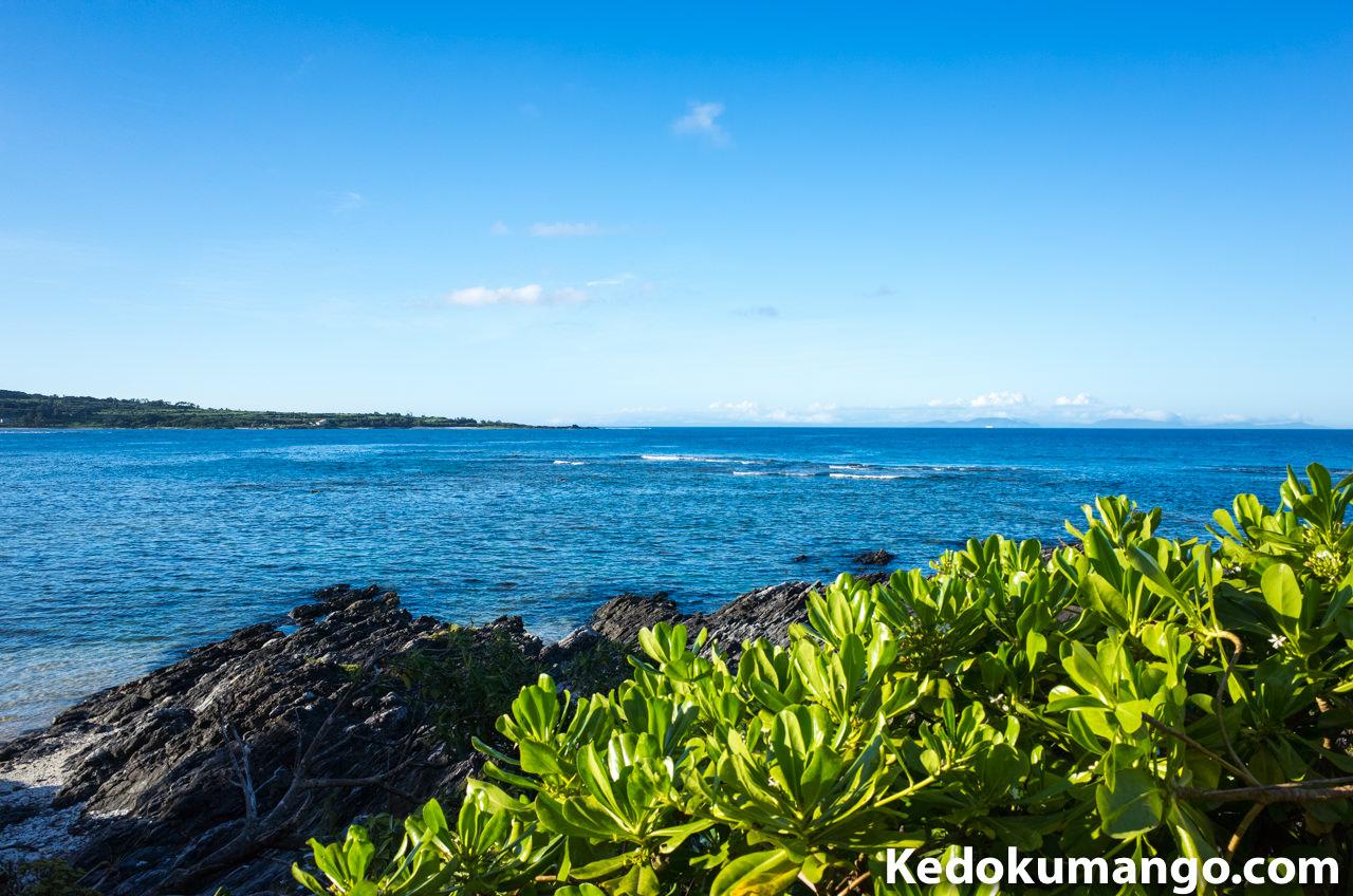 徳之島の畦地区から望む「海」_2