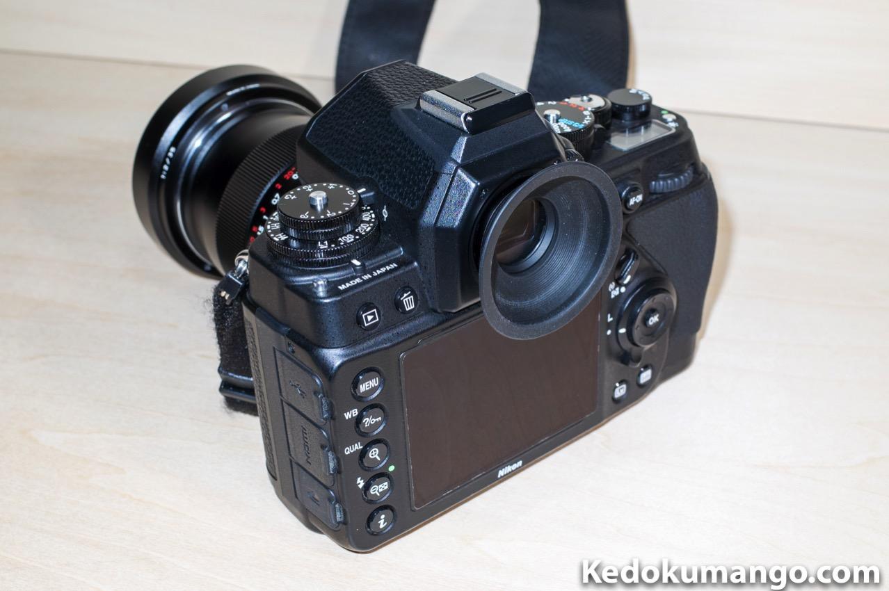 Nikon Dfのアイピースを大型化_1