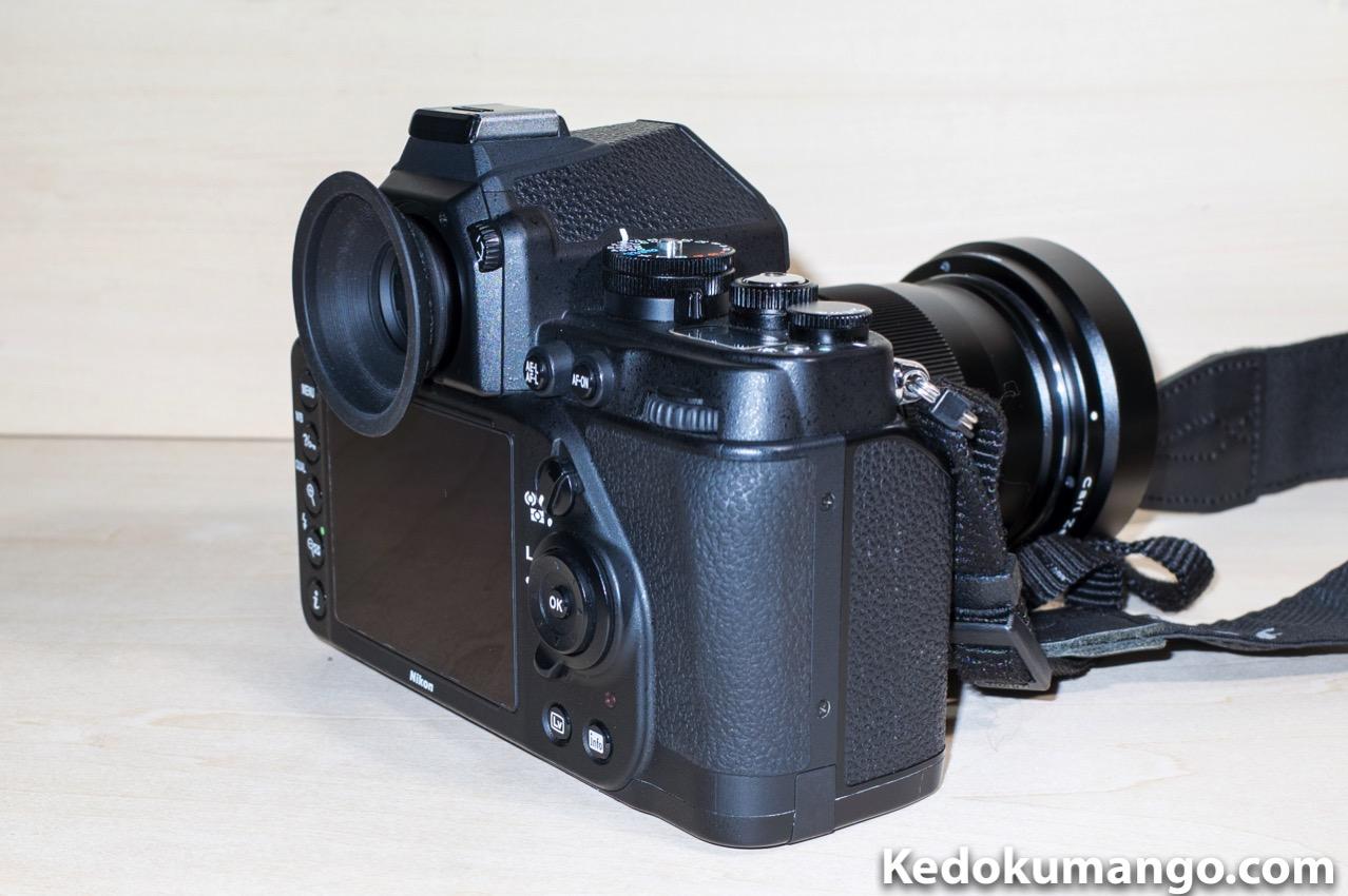 Nikon Dfのアイピースを大型化_2