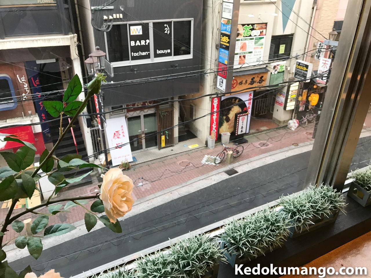 窓際からの眺め