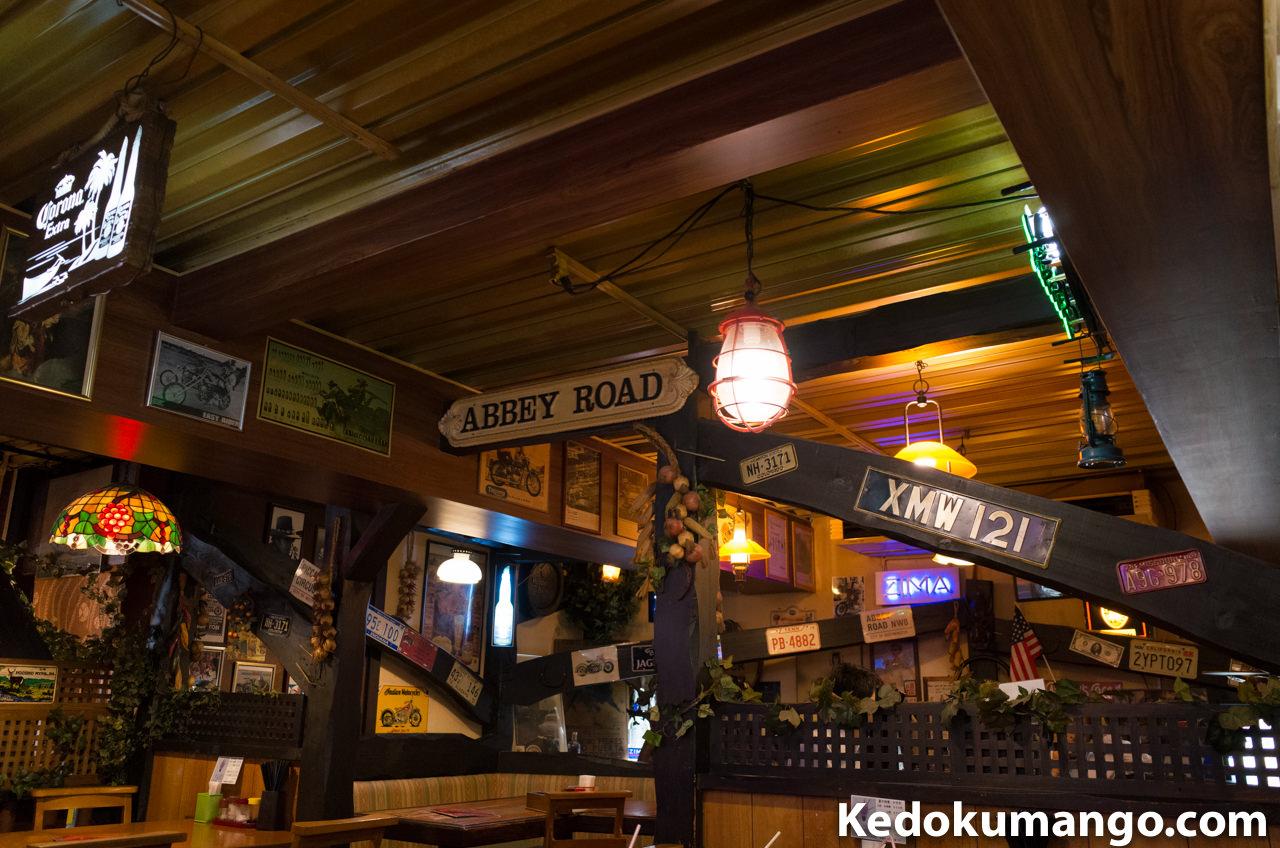 カジュアルレストランまきの店内-3