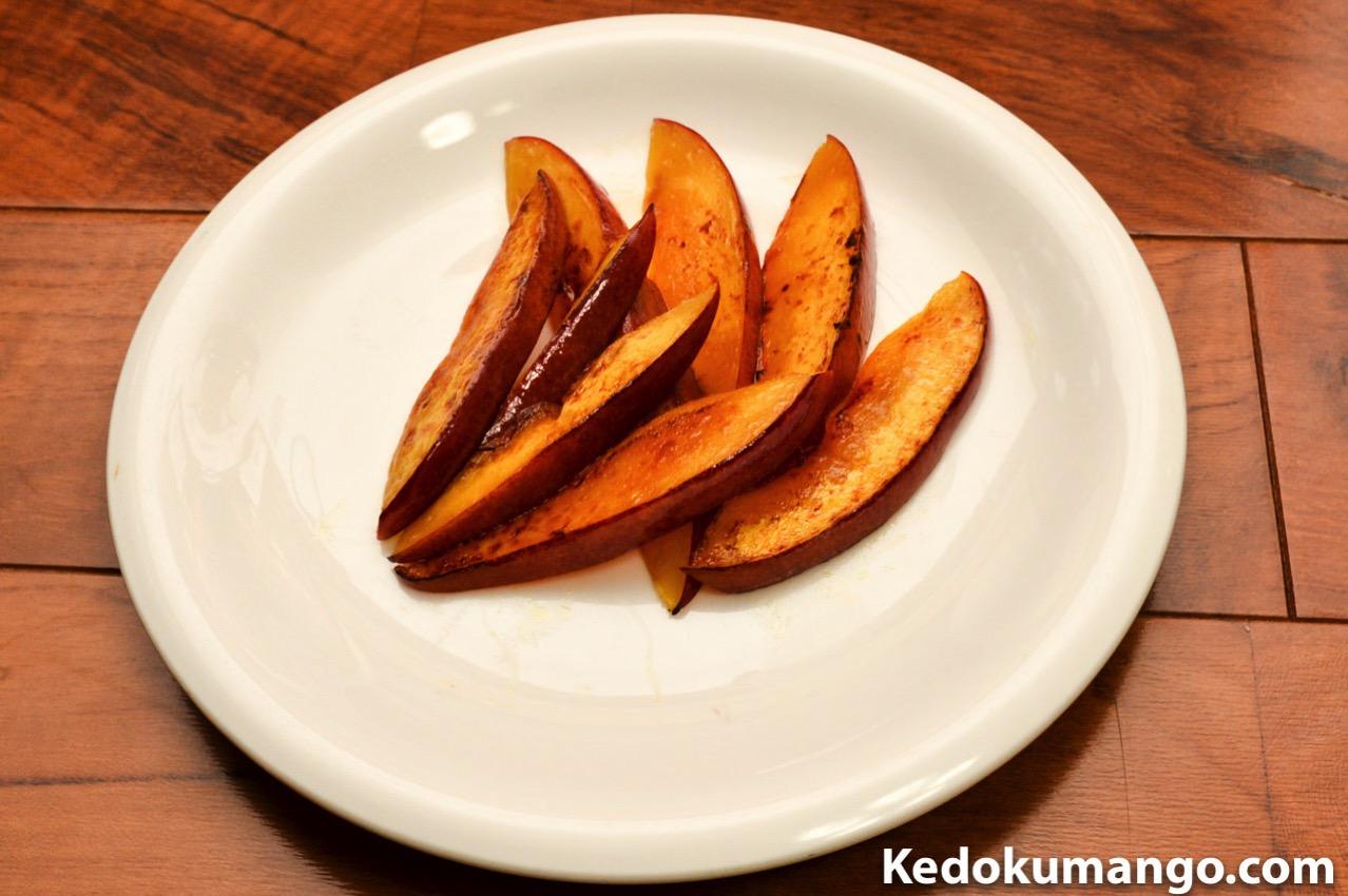 焼き上がったマンゴー