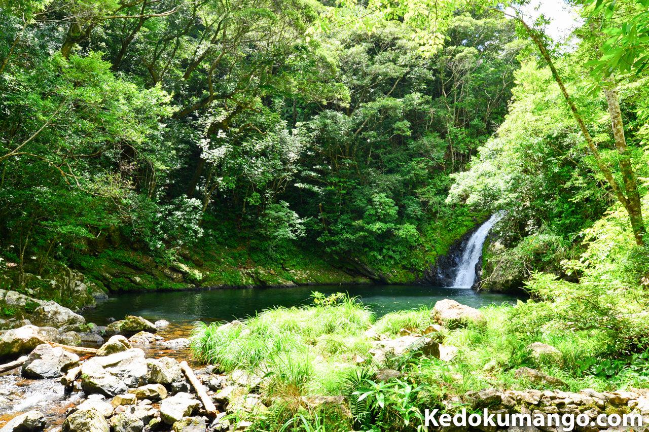 大和村のマテリヤ滝