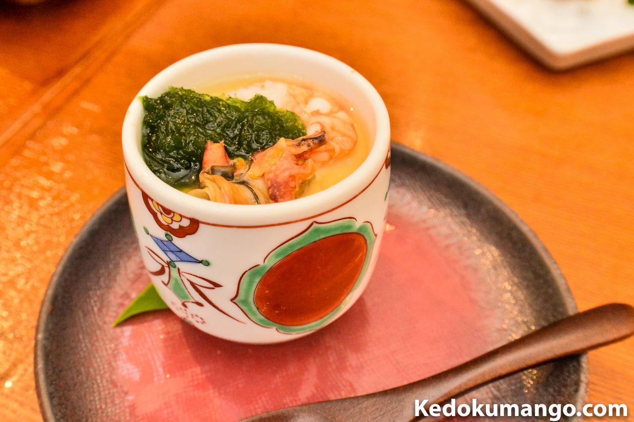誇羅司屋の茶碗蒸し