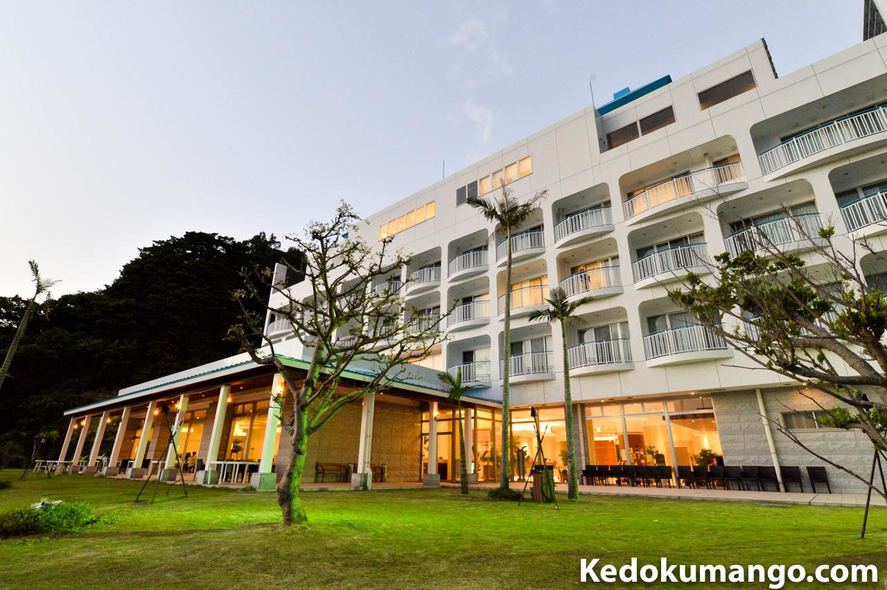 山羊島ホテルのガーデン
