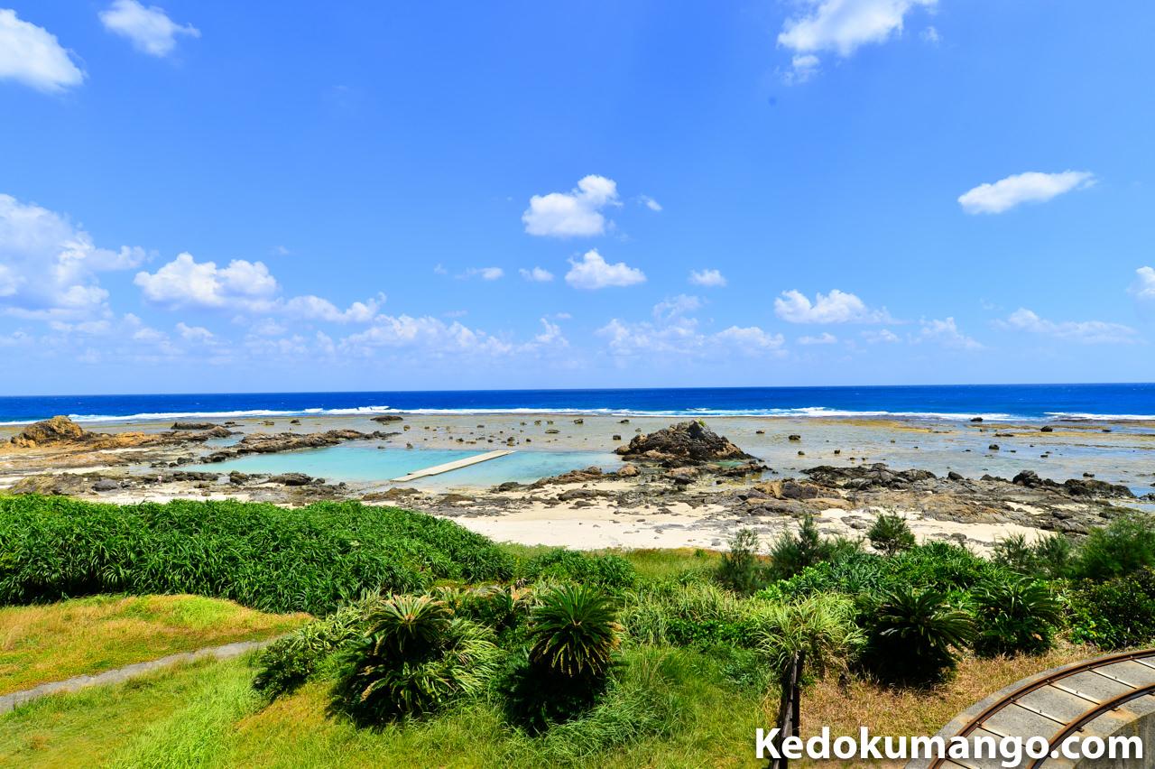 あやまる岬の海水プール